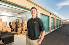 Professional Storage Facility Staff