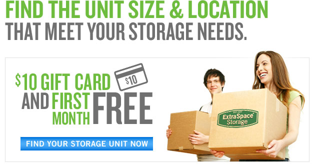 Self Storage Units At Extra Space Storage: Mini Storage Facilities